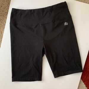 Reebok Cotton Black Bike Shorts